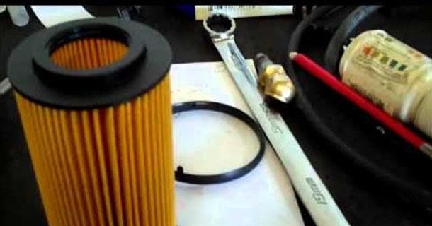Замена масляного фильтра в Passat B6