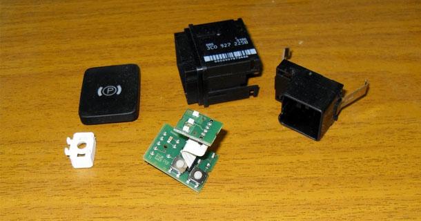 Неисправность электронного парковочного тормоза Passat B6